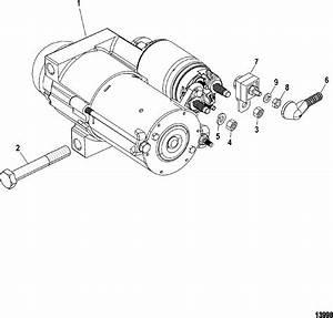 Starter Motor For Mercruiser 4 3l Mpi Alpha  Bravo 262 C I D  Multi Port Injection