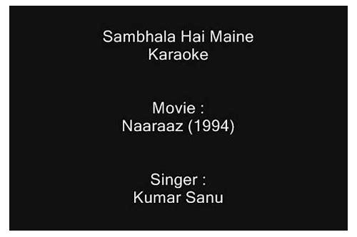 baixar música sambhala hai maine video song