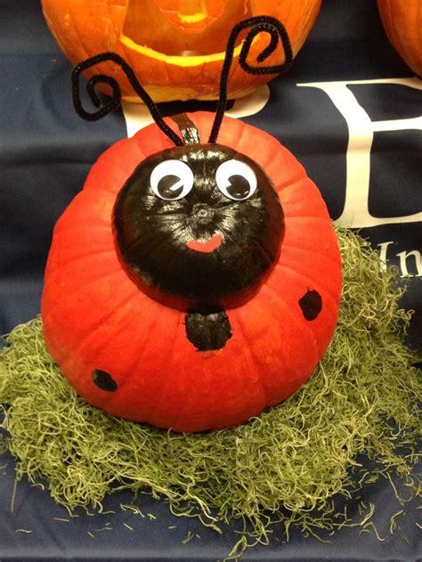 ladybug pumpkin pumpkin decorating halloween pumpkin