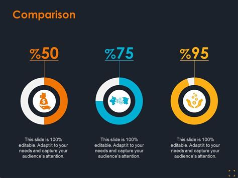 Comparison Icons With Percentage Ppt Summary Graphic ...