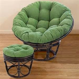 green corduroy papasan cushions chair from cost plus world