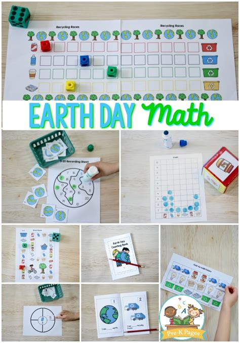 earth day math activities for preschool pre k pages 337 | EarthDayMath