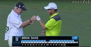 Brian Davis Holes Spectacular Chip Shot At Sanderson Farms