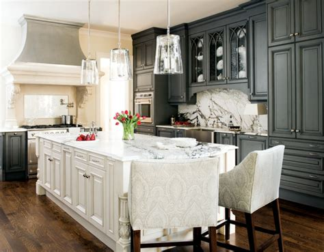 what color kitchen table with white cabinets la cuisine grise plut 244 t oui ou plut 244 t non 9837