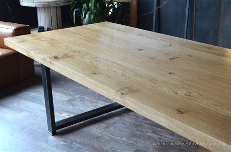 table bois brut table en verre extensible maisonjoffrois