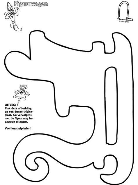 Figuurzagen Kleurplaten by Beroemd Figuurzagen Tekeningen Gratis Jr47 Belbin Info