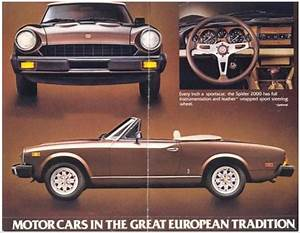 Fiat 124 Spider 1978-1982 Service Repair Manual