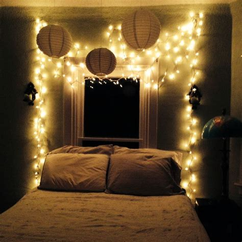 My Bedroom Oasis Twinkle Lights, White, And Stripes In