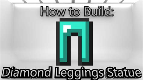 minecraft     diamond leggings statue youtube