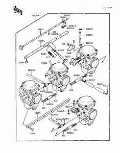 Carburetor Assy For 1983 Kawasaki Kz550