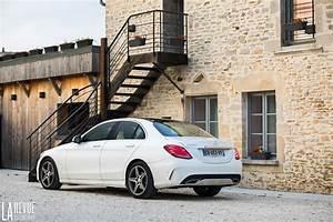 Mercedes Classe C Blanche : mercedes c220 essai mercedes classe c 220 d sportline bonne tout faire ~ Gottalentnigeria.com Avis de Voitures