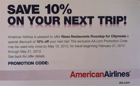american airlines coupon code october 2018