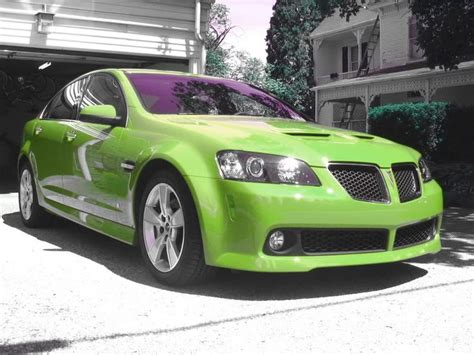 Green Pontiac G8 Gxp