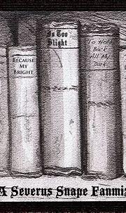 184 Free Severus Snape music playlists   8tracks radio