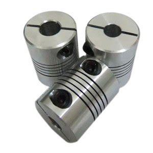 mm  mm flexible shaft coupler mm flex clamp shaft coupling connector diameter mm