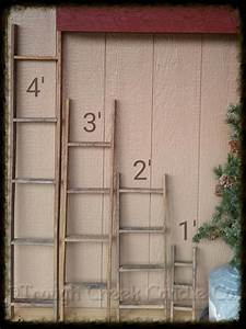Best ideas about wooden ladders on