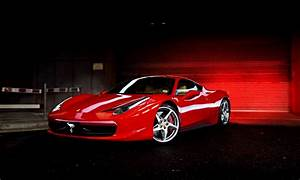 Ferrari 458 Italia Wallpaper Hd Red Screensaver Super