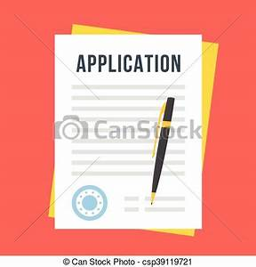 Job Application Form Template Free Download Vector Application Form