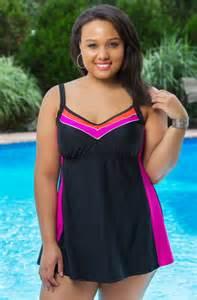 Delta Burke Swimwear Plus Size Women