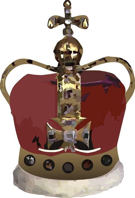 Crown King Mahkota Raja Bandana mahkota raja merah gambar gratis di pixabay