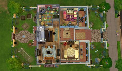 kitchen floor plans with island casa martina sims