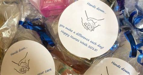 nurse week gift   staff bath  body works