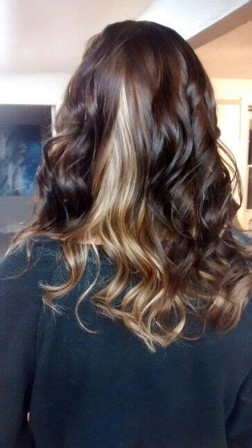 Hairstyles With Brown Underneath by Brown With Underneath By Schobert Hair And