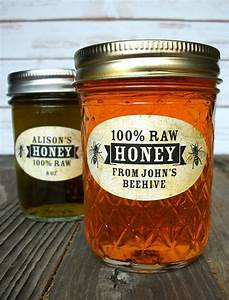 1499 best canning jar labels images on pinterest With custom honey jars