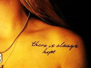 Small Shoulder Sexy Love Quote Tattoos for Girls - Cute ...