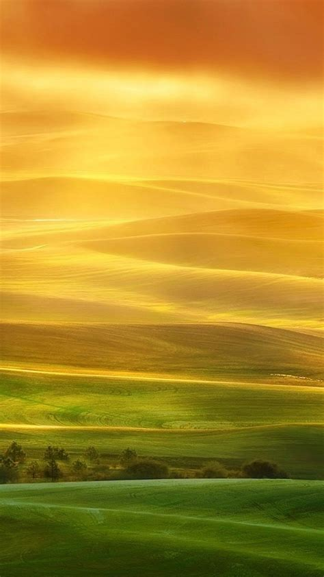 Wallpaper Iphone 6 Plus Sweet Hills Landscape 5 5 Inches