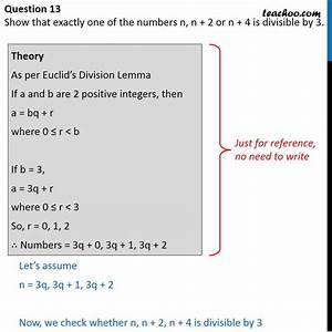 Show That Exactly One Of Numbers N  N   2 Or N   4 Is