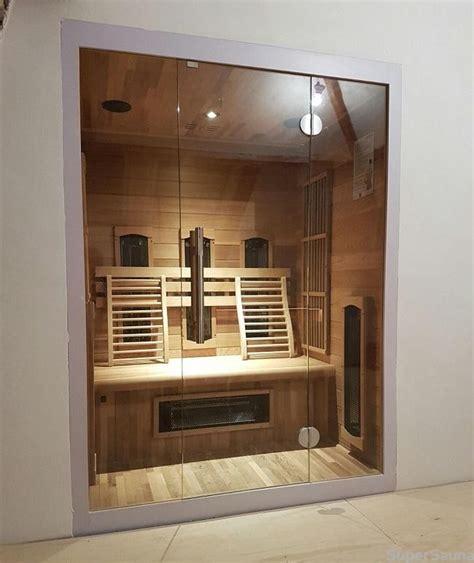 Sauna Glasfront Kaufen by Infrarotkabine Kaufen Mit Glasfront Futura Ab 2145