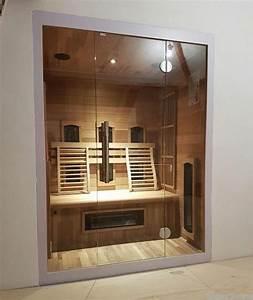 Sauna Mit Glasfront : infrarotkabine kaufen mit glasfront futura ab 2145 supersauna ~ Whattoseeinmadrid.com Haus und Dekorationen
