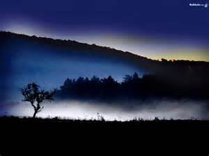 Nature Night Mountains