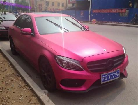 pink mercedes truck what do you think of this pink mercedes benz c class l