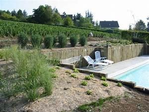 amenagement massif en pente simple superbe jardin en With amazing jardin en pente amenagement 0 amenagement dun jardin en restanques aix jardin