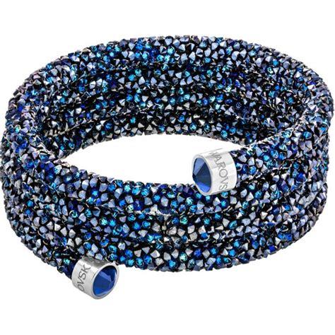 bracelet swarovski bleu bracelet swarovski bijoux 5294804 tour cristal