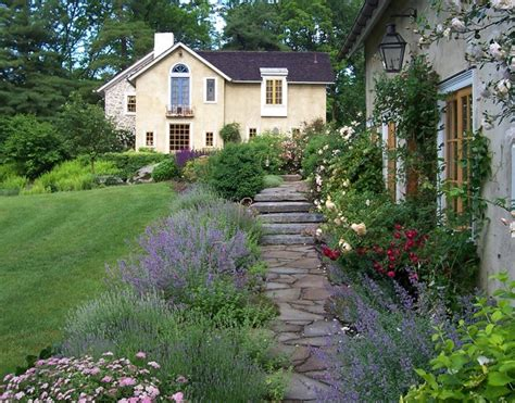 farmhouse garden design romantic guesthouse garden farmhouse landscape philadelphia by dear garden associates inc
