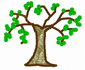 How To Draw A Tree For Kids - ClipArt Best