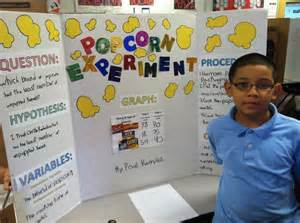 popcorn science fair project what brand of popcorn
