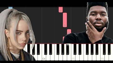 Lovely Ft Khalid (piano Tutorial)