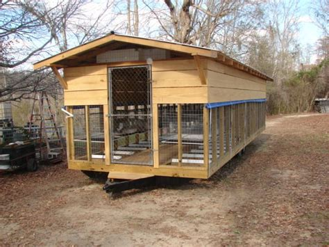 rabbit shed rabbits rabbitry meat barn farm cages raising homesteading cage building bunny hutches scale pen today trailer hutch plans