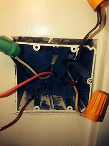 Bathroom Exhaust    Light On Two Switches - Red Wire And Confusion