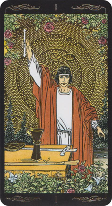 golden universal tarot reviews images aeclectic tarot