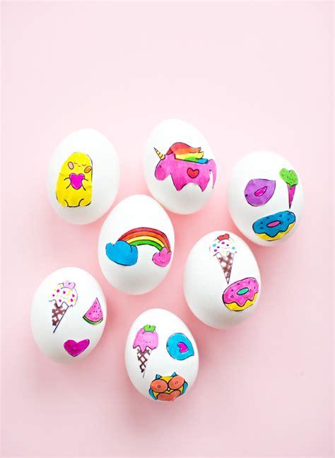sticker art easter eggs fun family crafts