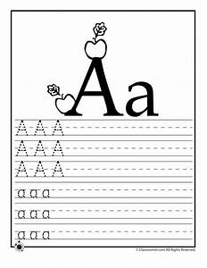 learning abcs worksheets woo jr kids activities With learn alphabet letters
