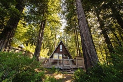 building an a frame cabin cozy a frame cabin in the redwoods page 3 home design