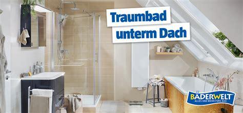 Das Badezimmer Unterm Dach Individuelle Loesungen by Badideen F 252 R B 228 Der Mit Dachschr 228 Ge Bauhaus