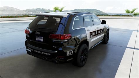police jeep cherokee scpd 2014 jeep grand cherokee srt back by xboxgamer969