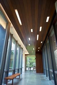 Modern wood covered ceiling lgv